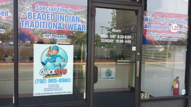 Quick Keys & Locksmith Edison NJ Storefront